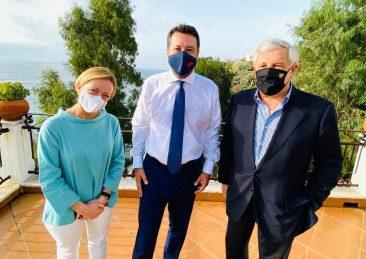 SOLIDARIETA' DI MELONI E TAJANI A SALVINI, STAMANE PRIMA DELL'UDIENZA IN TRIBUNALE