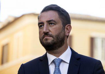 PIAZZA MONTECITORIO, MANIFESTAZIONE CONTRO LA FIDUCIA SUL ROSATELLUM
