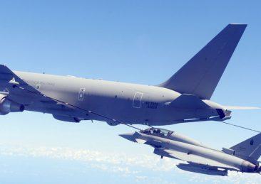KC767A in volo