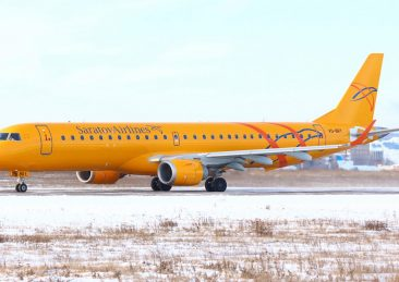 Saratov_Airlines_E-195_VQ-BRY