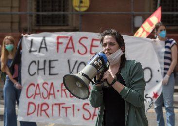 Coronavirus, presidio per affitti e reddito a Bologna