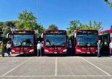 atac nuovi autobus