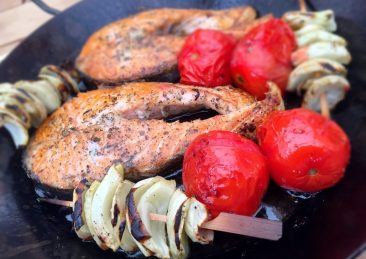 barbecue tonno pesce ristorante