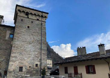 castelli e del borgo di Avise valle d'aosta