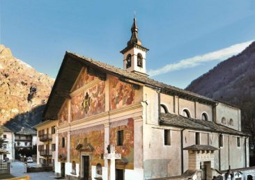 chiesa di issime-