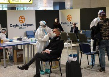 controlli sardegna aeroporto porti covid