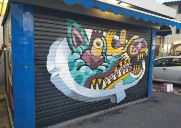 edicola firenze writer street art