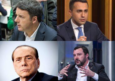 elezioni_renzi_di-maio_berlusconi_salvini