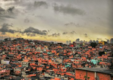 favelas san paolo_brasile