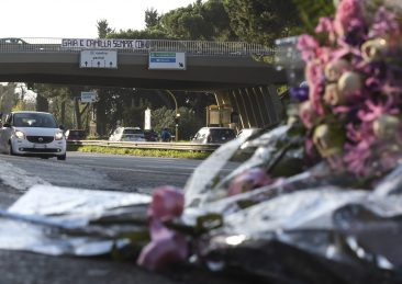 CORSO DI FRANCIA INCIDENTE MORTALE