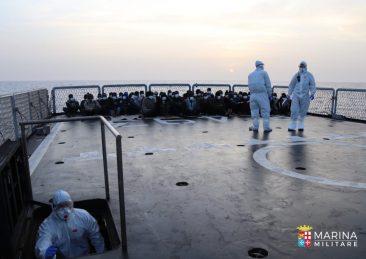 migranti libia mediterraneo