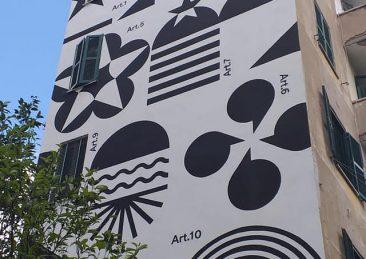 murale costituzione garbatella