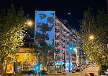 murales Falcone a Palermo