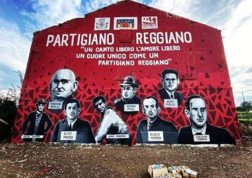 murales reggio emilia partigiani