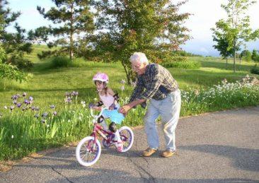 nonno bambina