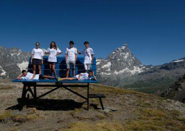 A Valtournenche La Panchina Gigante Più Alta D'europa
