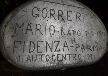 Mario Gorreri militare Parma