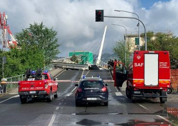 ponte mobile della darsena Pagliari Spezia