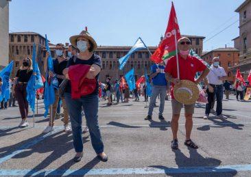 presidio sindacati bologna incidenti sul lavoro