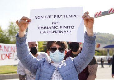 protesta ristoratori bologna autostrada