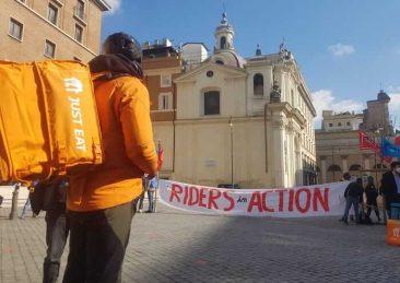 protesta rider roma