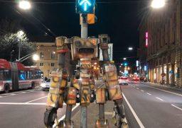 robot semaforo