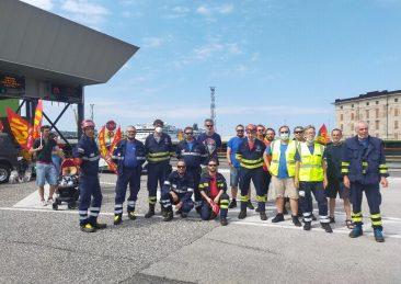 sciopero portuali trieste