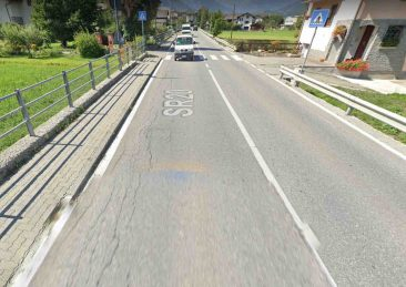 strada regionale gressan