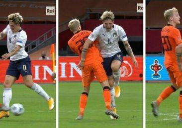 Nations League: Olanda-Italia, infortunio a Zaniolo